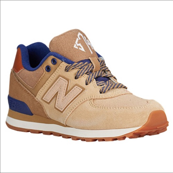 e77977466a New Balance In Size Kids 3 in Brown Tan Color NWT